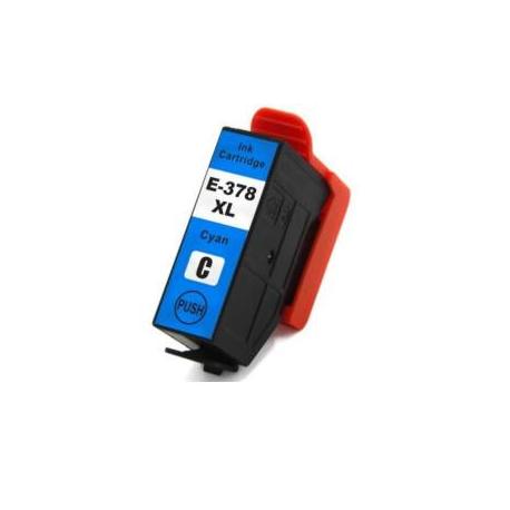Epson T3792 / 378XL Cartouche d'encre Cyan Compatible
