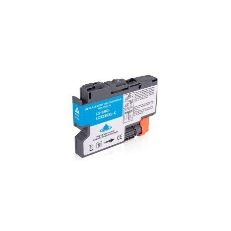 Brother XL LC 3235 jet d'encre cyan compatible
