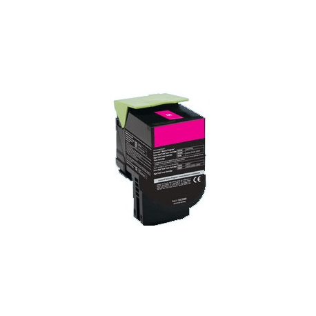 Lexmark C2425 Toner Magenta Remanufacturé 3.5K