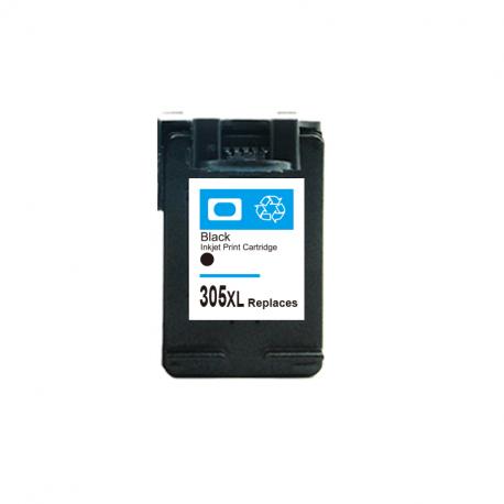 HP 3YM62AE / 305XL Cartouche d'Encre Noir(e) Remanufacturé