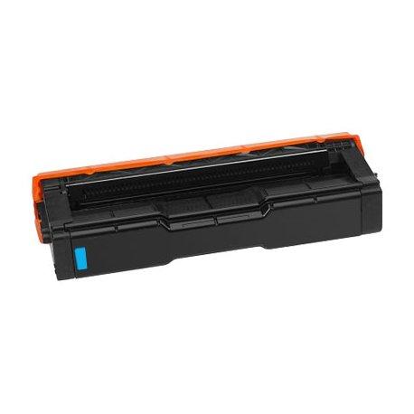 Toner Pour Ricoh SPC-250 Cyan Compatible